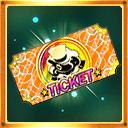 【新章】夢魔世界ガチャチケット_ticket_orange